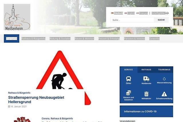 Meißenheim hat eine neue Homepage