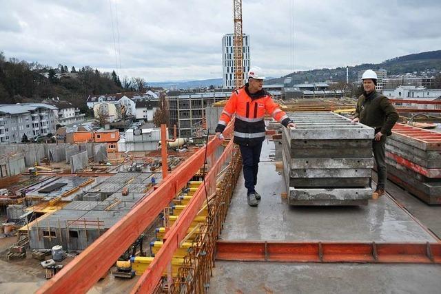 Das Projekt Conrad nimmt in Lörrach sichtbar Konturen an