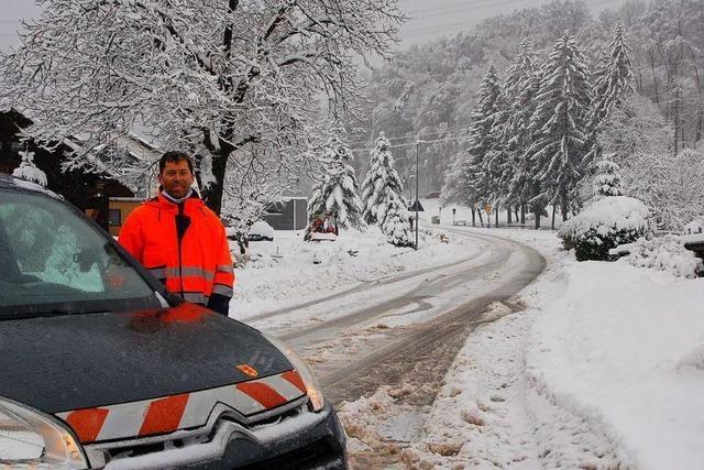 Schneemassen sorgen in Rheinfelden und Grenzach-Wyhlen für Kummer und Freude