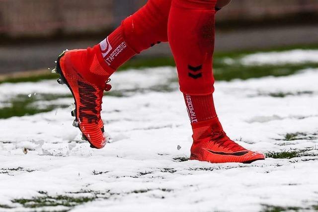 Der Winter hat den SC Freiburg II im Griff: Partie gegen Mainz fällt aus