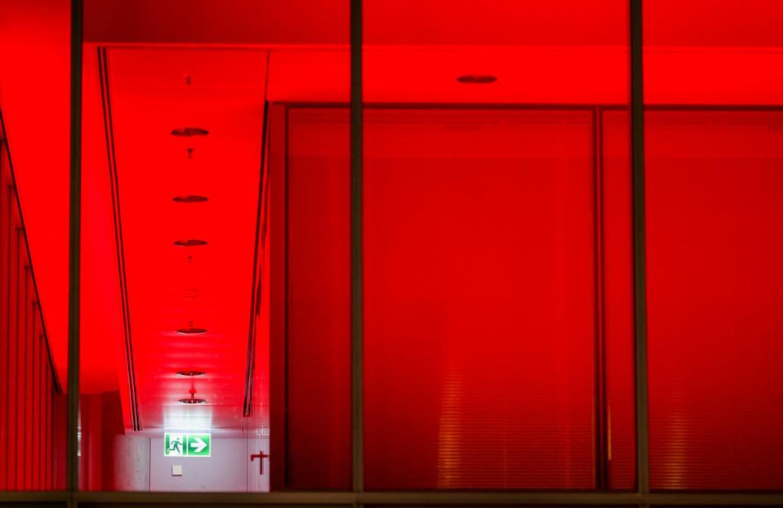 Manches Bürogebäude bleibt leer.    Foto: Jan Woitas (dpa)