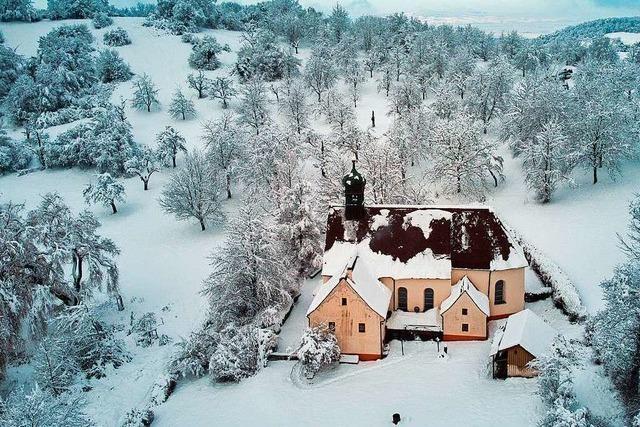 Das Freiburger Umland versinkt im Schnee