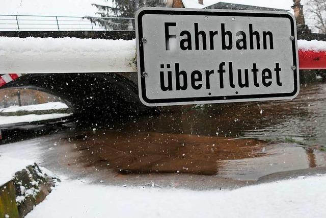 Wetterdienst warnt vor Hochwasser – auch erhöhte Lawinengefahr