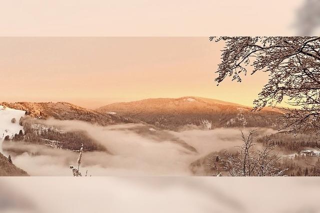 Sonnenuntergang in Todtnauberg