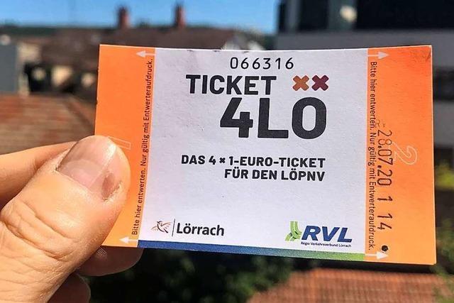 Die Freien Wähler verteidigen das Lörracher Ein-Euro-Ticket
