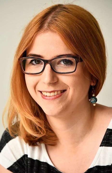 Chantal Kopf will für die Grünen in den Bundestag.  | Foto: Michael Bamberger