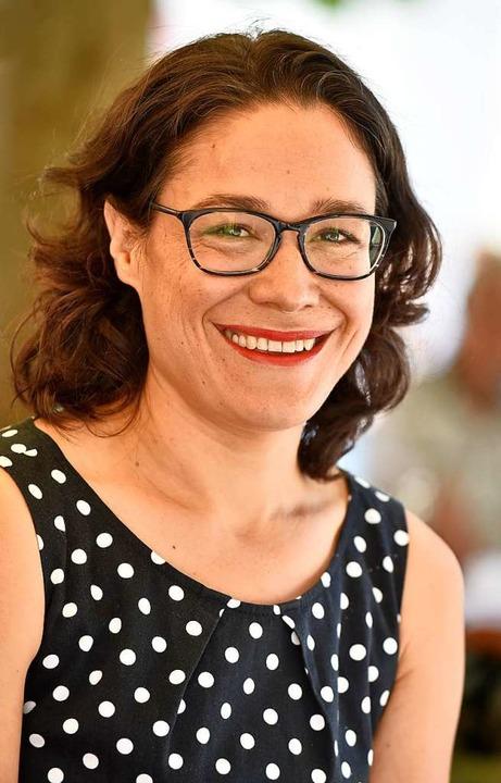 Nadyne Saint-Cast kandidiert im Wahlkreis 47 (Freiburg II) für den Landtag.  | Foto: Michael Bamberger
