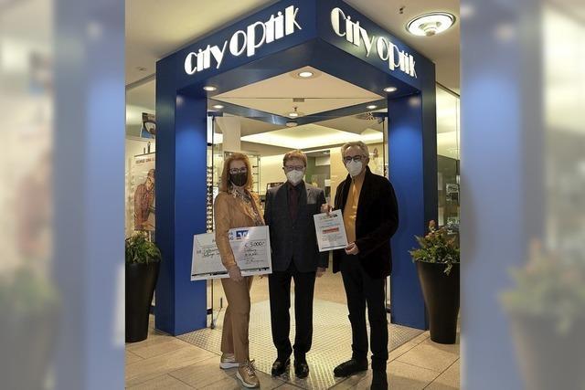 City Optik unterstützt Freiburger Tafel