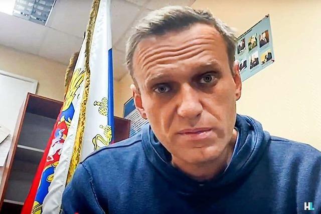 Der Fall Nawalny setzt auch Berlin unter Druck