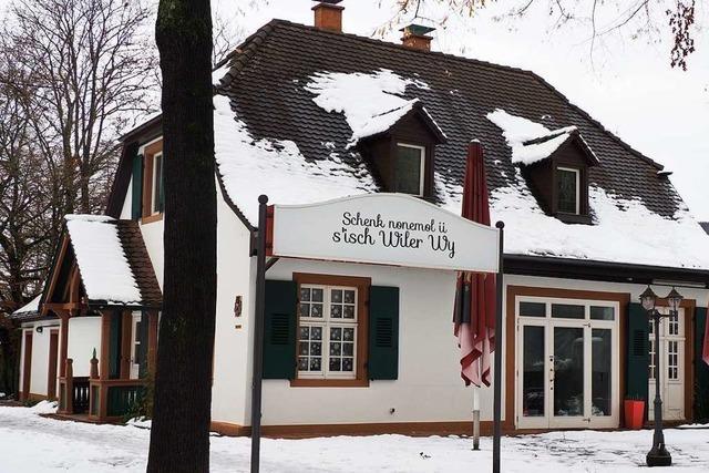 Das Café Gupi im Läublinpark in Weil am Rhein soll im Frühling öffnen