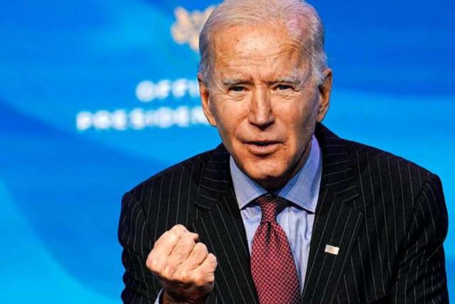 Joe Biden, der Fingerspitzenpolitiker