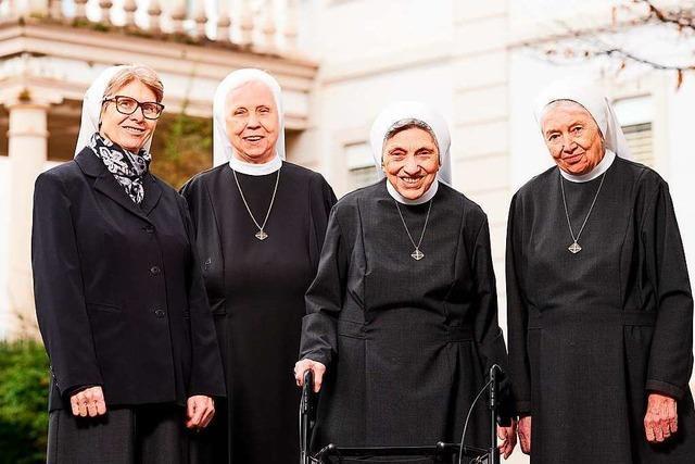 Die letzten Schwestern im St. Elisabethen-Krankenhaus Lörrach sagen Adieu