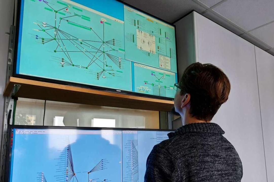 Über das eigene Network Operation Cent...ufen und schnell bei Problemen helfen.  | Foto: FreiNet GmbH