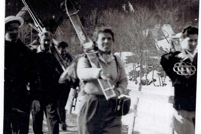 Martha Grether war die erste Skilehrerin in Rheinfelden