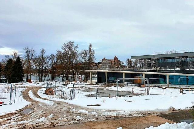 Deutsch-französisches Kulturzentrum Art´Rhena wird wohl erst am Jahresende eröffnet