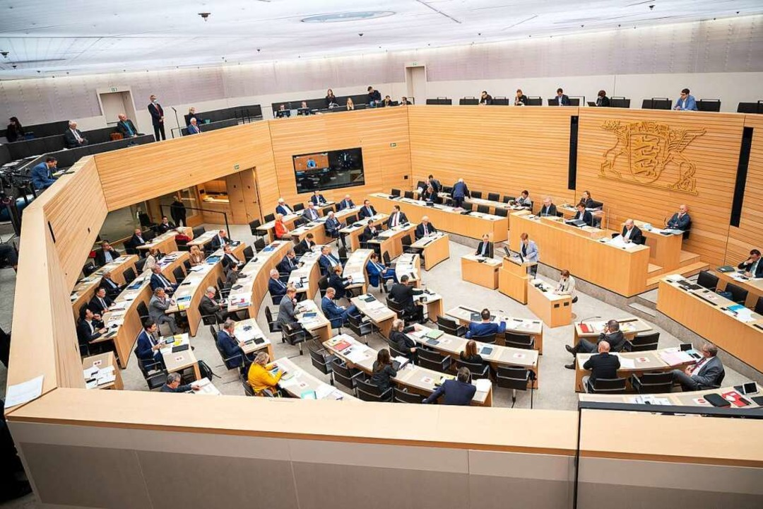 Der Landtag in Stuttgart  | Foto: Sebastian Gollnow (dpa)
