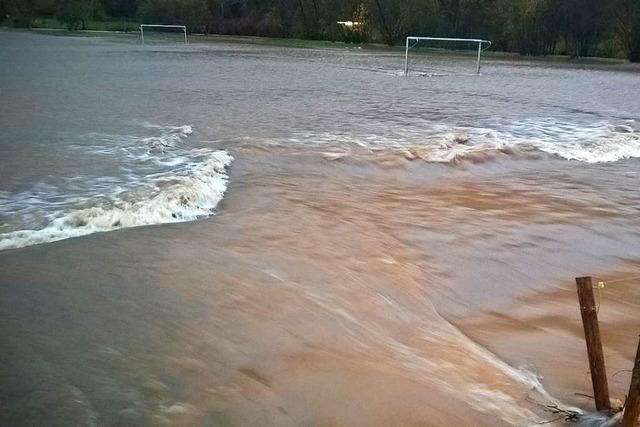 Schopfheim und das Kleine Wiesental erwarten ein Hochwasser