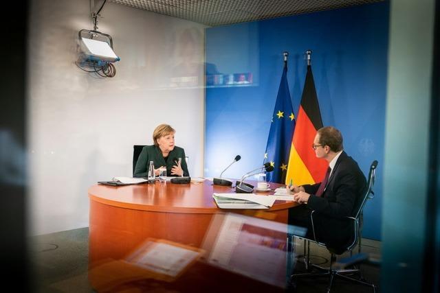 Livestream: Merkel informiert über die neuen Corona-Maßnahmen