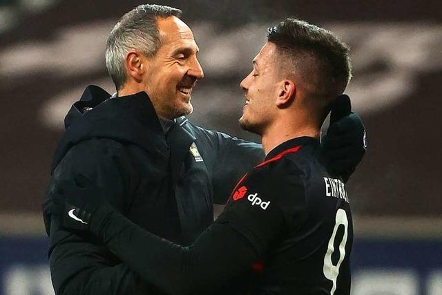 Mit Luka Jovic ist im Match zwischen Eintracht Frankfurt und dem SC Freiburg zu rechnen