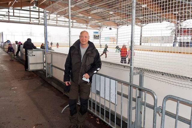 Betrieb der Kunsteisbahn im Schweizer Rheinfelden ist stark eingeschränkt
