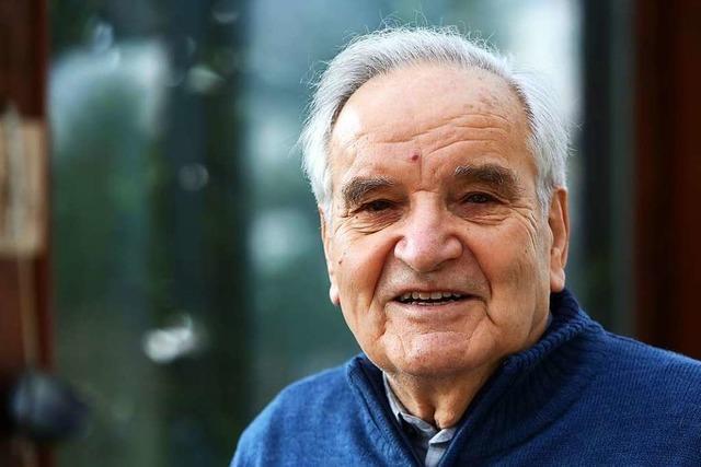 Ex-CDU-Stadtrat Florian Vetter wird 90