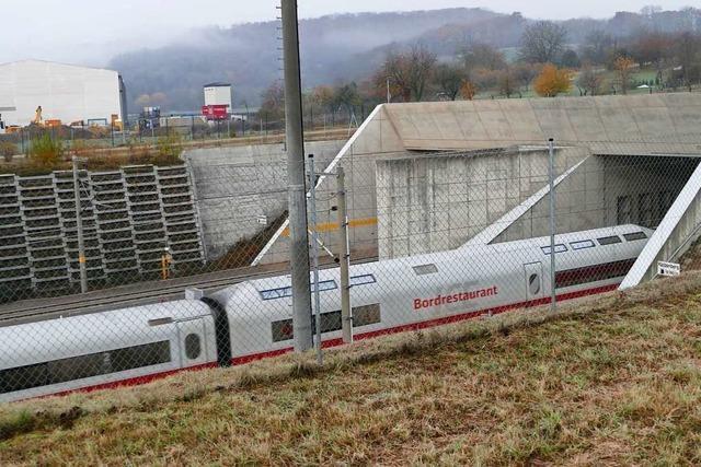 Bahn kündigt laute Arbeiten für ein neues Zugsicherungssystem am Katzenbergtunnel an