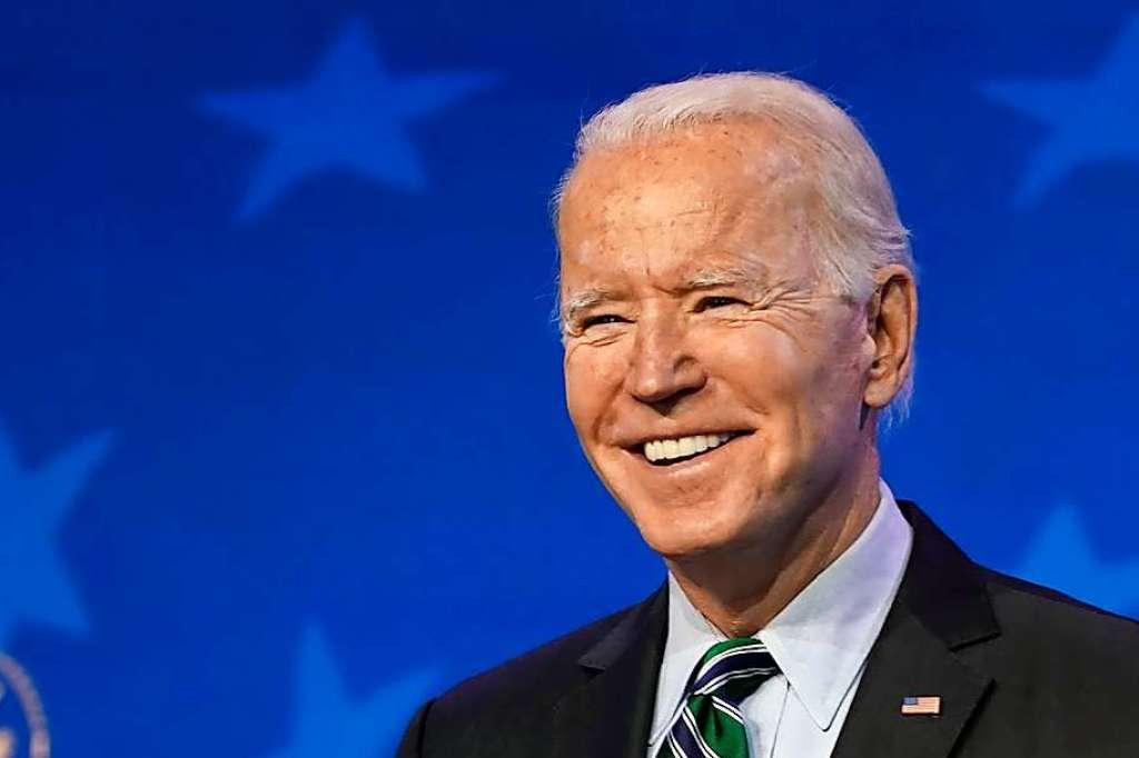 Joe Biden wird als 46. US-Präsident vereidigt...