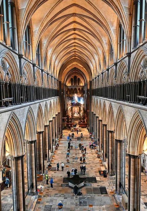 Die Kathedrale von Salisbury  | Foto: JUSTIN TALLIS (AFP)