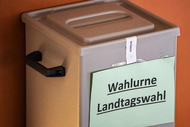 13 Parteien dürfen im Wahlkreis Lörrach zur Landtagswahl antreten