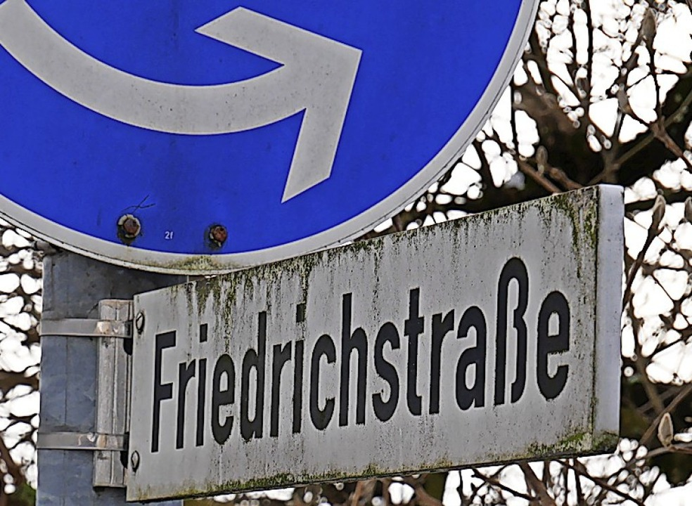 An der Friedrichstraße wird es kein Parkverbot geben.  | Foto: Michael Gottstein