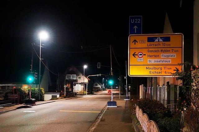 Anwohner in Degerfelden fordern Tempo 30 wegen der Autobahnumleitung