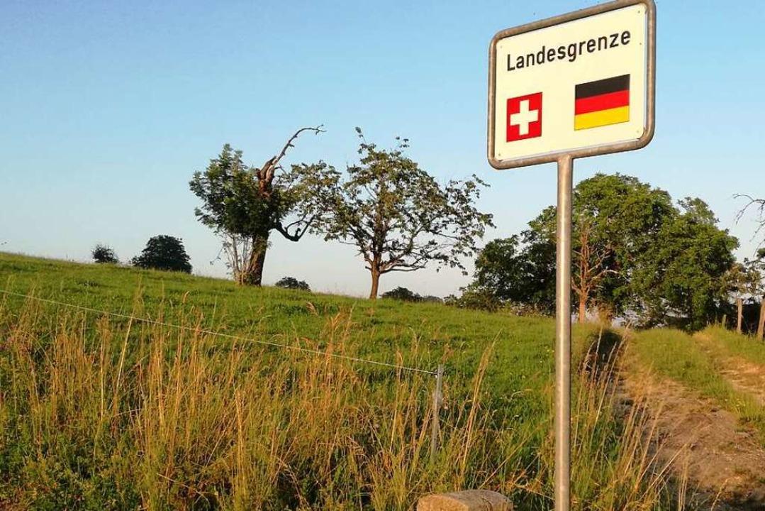 Die Grüne Grenze bei Lörrach  | Foto: Kathrin Ganter