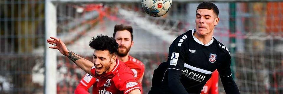 Der Bahlinger SC schaufelt sich einen Punkt gegen Frankfurt frei