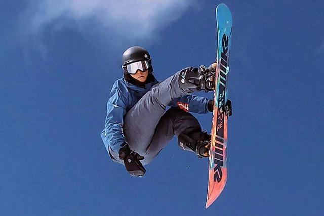 Snowboarder Benedikt Bockstaller: