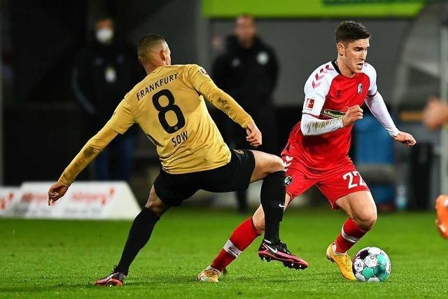 Umkämpfte Partie zwischen Freiburg und Frankfurt endet 2:2-Unentschieden