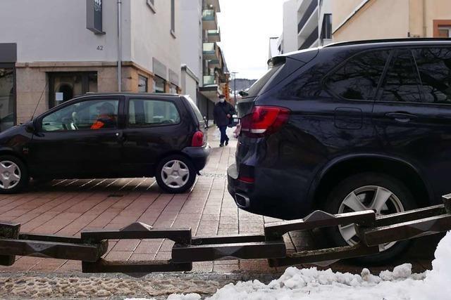 Hauptstraße in Schopfheim soll für Autofahrer unattraktiver werden