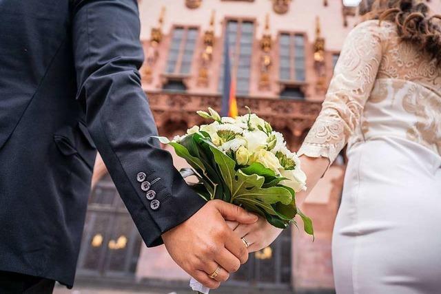 Weniger Hochzeiten im Südwesten während des Lockdowns