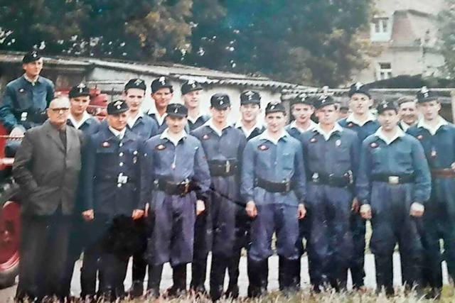 Die Freiwillige Feuerwehr Badenweiler Abteilung Schweighof ist 70 Jahre alt