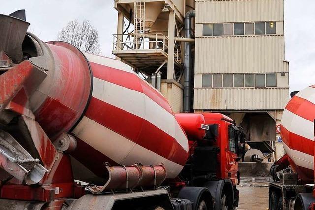 Ortschaftsräte lehnen mobile Betonmischanlage ab