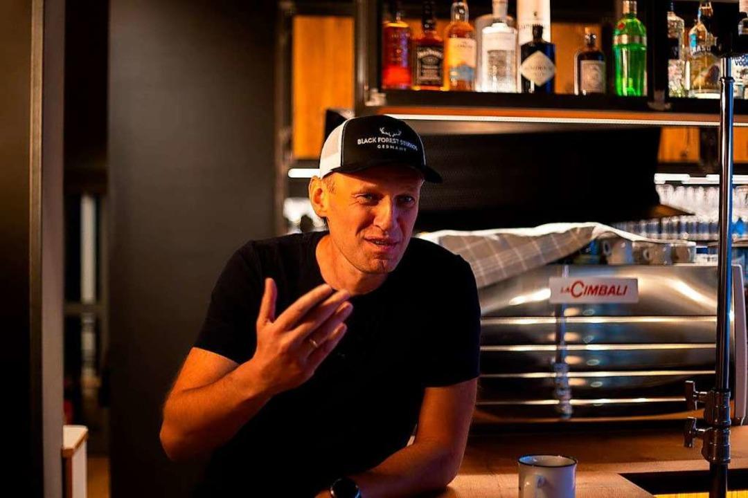 Alexej Nawalny in den Black Forest Studios in Kirchzarten  | Foto: privat
