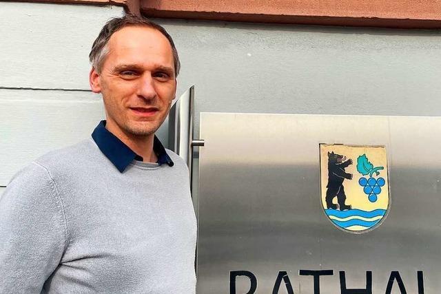 Grenzach-Wyhlen hat nach sieben Monaten Vakanz wieder einen Hauptamtsleiter