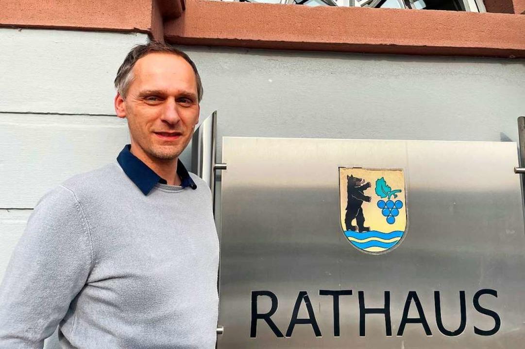 Stephan Schmidt leitet seit Januar 2021 das Hauptamt von Grenzach-Wyhlen    Foto: Gemeinde Grenzach-Wyhlen