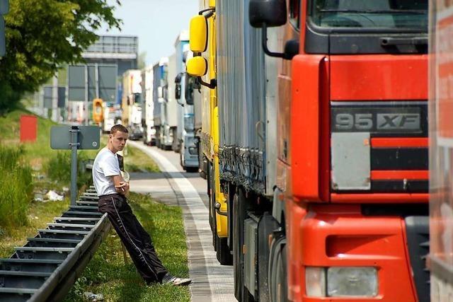 Suche nach Lkw-Rastplätzen bei Weil am Rhein kommt nicht voran