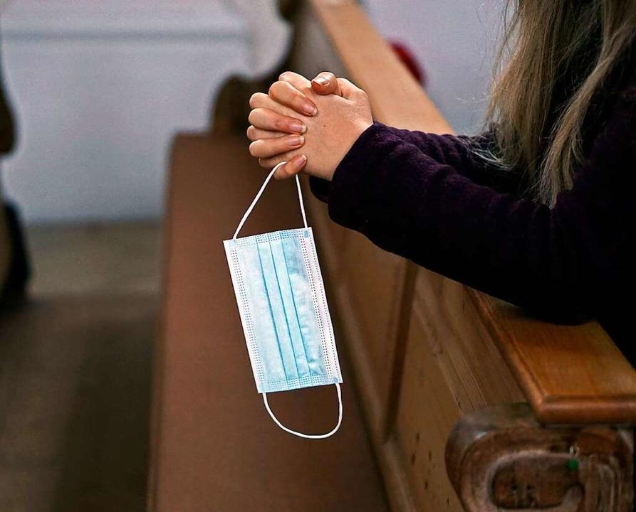 In Lörrach und Inzlingen wird es wieder Präsenzgottesdienste geben (Symbolbild).    Foto: via www.imago-images.de
