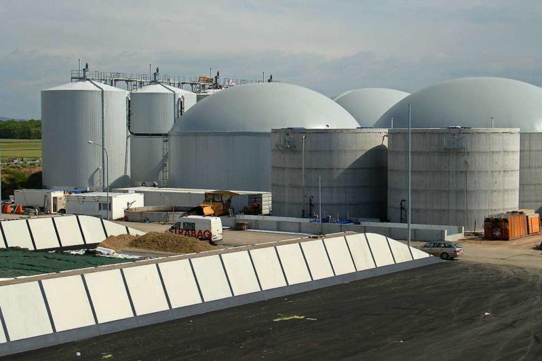 In Biogasanlagen wird Biomasse zu Methan vergärt.  | Foto: Badenova