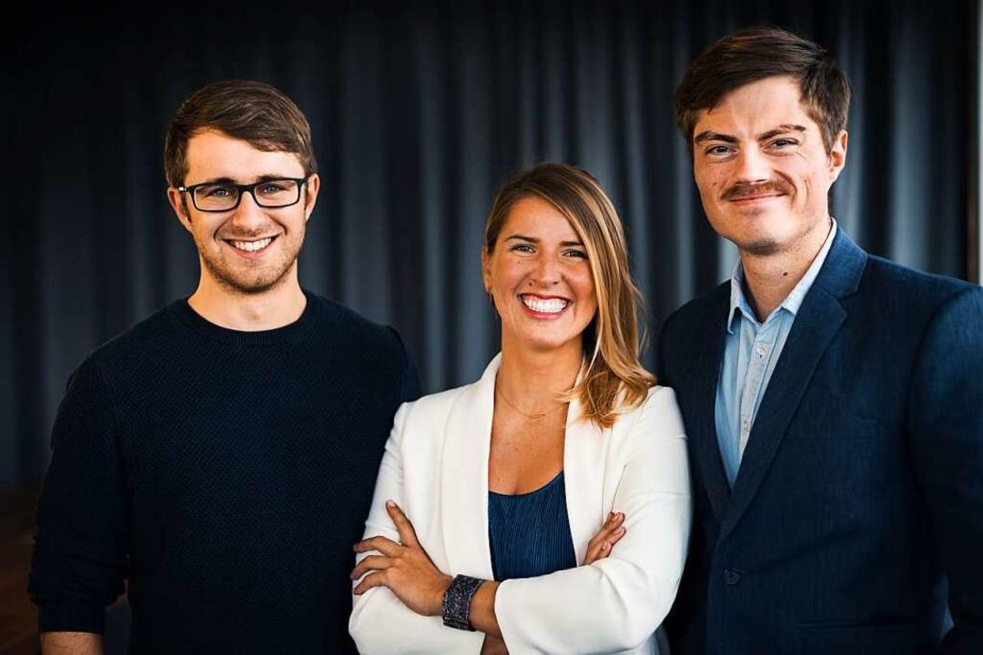 Jerome Meinke (links), Lilian Rettegi ...n gemeinsam die Tomes GmbH gegründet.   | Foto: Lucas Pretzel