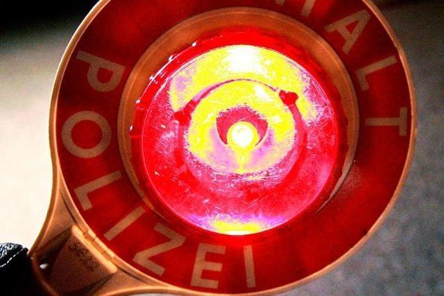 Rollerfahrer wird nach wilder Flucht in Freiburg-Haslach festgenommen