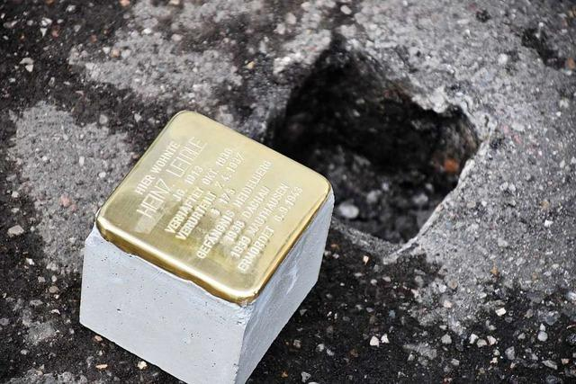 Initiative will mit Stolpersteinen an NS-Opfer im Wiesental erinnern