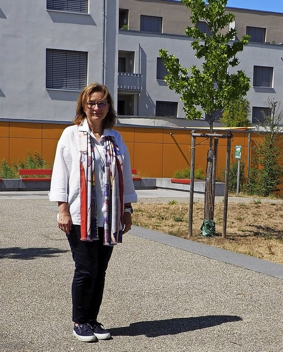 Sorgt dafür, dass das Quartier Hohe Straße an Profil gewinnt: Brigitte Lill   | Foto: Herbert Frey