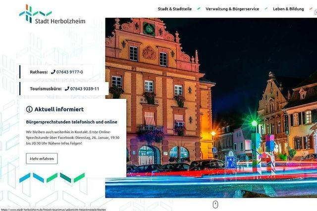 Herbolzheim hat eine neue Homepage und bekommt eine Bürger-App